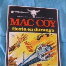 Cómics: MAC COY. FIESTA EN DURANGO. GRIJALBO. 1983 48 PP NUEVO. Lote 100985015