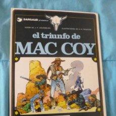 Cómics: MAC COY Nº 12 EL TRIUNFO DE MAC COY EDITORIAL GRIJALBO TAPA DURA. Lote 100985899
