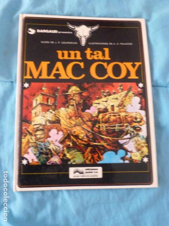 MAC COY Nº 2. TAPAS DURAS. 1976. - UN TAL MAC COY -. PRIMERA EDICION. (Tebeos y Comics - Grijalbo - Mac Coy)