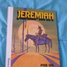 Cómics: JEREMIAH POR HERMANN. Nº2 POR UN PUÑADO DE ARENA. EDICIONES JUNIOR 1980 GRIJALBO. Lote 100999075
