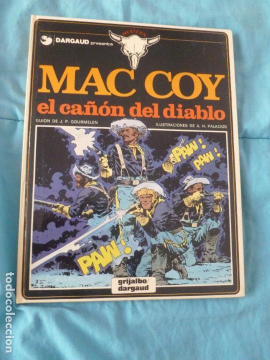 MAC COY Nº 9. TAPAS DURAS. 1976. -EL CAÑON DEL DIABLO -. PRIMERA EDICION.BUEN ESTADO (Tebeos y Comics - Grijalbo - Mac Coy)