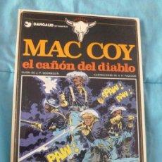 Cómics: MAC COY Nº 9. TAPAS DURAS. 1976. -EL CAÑON DEL DIABLO -. PRIMERA EDICION.BUEN ESTADO. Lote 101001047