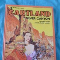 Cómics: CARTLAND SILVER CANYON. GRIJALBO. 1988 BUEN ESTADO. Lote 101002503