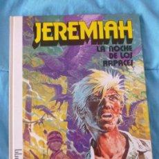 Cómics: JEREMIAH - LA NOCHE DE LOS RAPACES. - NÚMERO 1 - TAPA DURA - EDICIONES JUNIOR. Lote 101003799