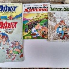 Cómics: SEIS TEBEOS DE ASTERIX. ALGUNAS ROTURAS Y SUCIEDAD. LOS DE LA FOTO.. Lote 101023319