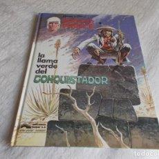 Cómics: BERNARD PRINCE Nº 8 LA LLAMA VERDE DEL CONQUISTADOR. Lote 101067211