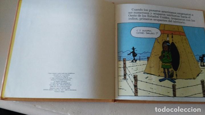 Cómics: LUCKY LUKE Y SU MUNDO LA CABALLERIA 1985 18 CMS 190 GRS - Foto 4 - 101141011