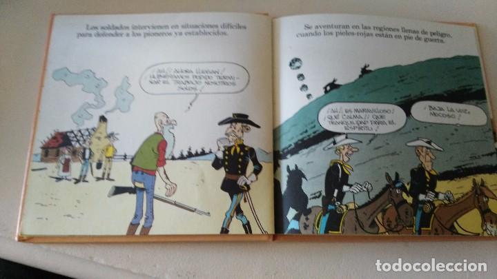 Cómics: LUCKY LUKE Y SU MUNDO LA CABALLERIA 1985 18 CMS 190 GRS - Foto 5 - 101141011