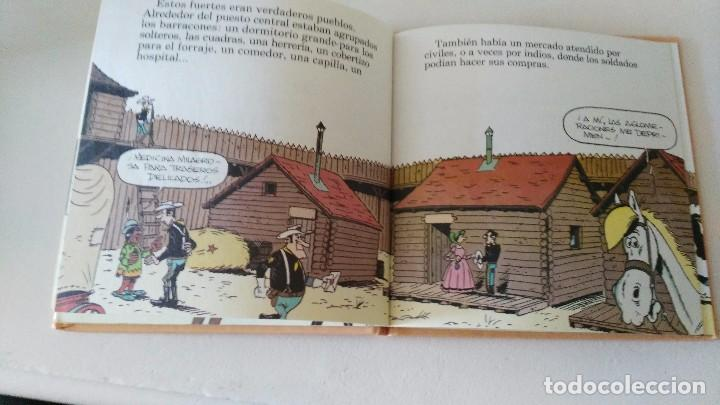 Cómics: LUCKY LUKE Y SU MUNDO LA CABALLERIA 1985 18 CMS 190 GRS - Foto 6 - 101141011