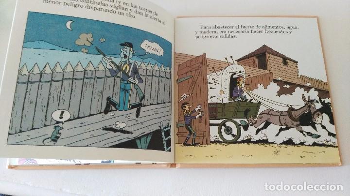 Cómics: LUCKY LUKE Y SU MUNDO LA CABALLERIA 1985 18 CMS 190 GRS - Foto 7 - 101141011