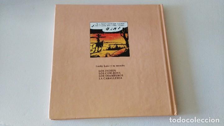 Cómics: LUCKY LUKE Y SU MUNDO LA CABALLERIA 1985 18 CMS 190 GRS - Foto 8 - 101141011