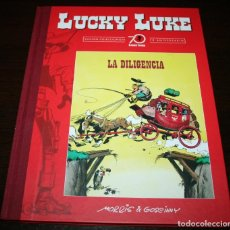 Cómics: LUCKY LUKE - LA DILIGENCIA - MORRIS & GOSCINNY - PLANETA DEAGOSTINI - 2016 - EDICIÓN 70 ANIVERSARIO. Lote 101245239