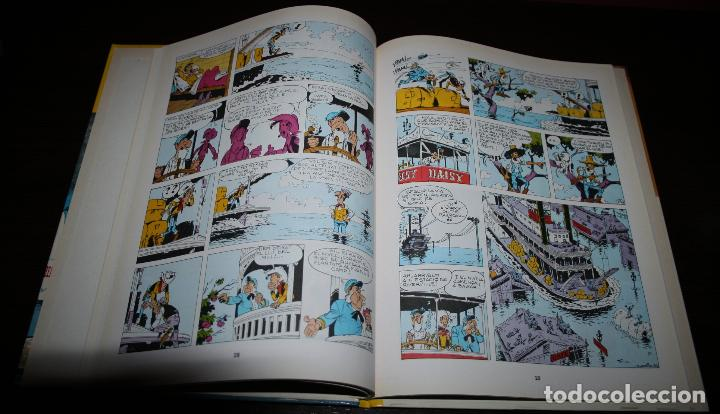 Cómics: LUCKY LUKE - REMUNTANT EL MISSISSIPÍ - MORRIS & GOSCINNY - GRIJALBO/DARGAUD - 1992 - EN CATALÁN - Foto 4 - 101245423