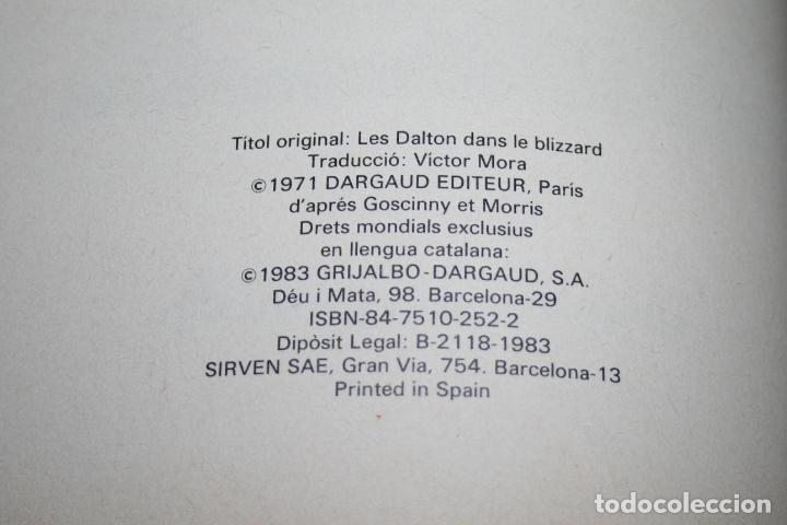 Cómics: LUCKY LUKE - ELS DALTON VAN AL CANADÀ - MORRIS & GOSCINNY - GRIJALBO/DARGAUD - 1983 - EN CATALÁN - Foto 4 - 101245459