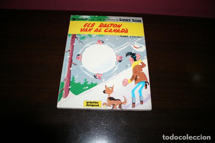 Cómics: LUCKY LUKE - ELS DALTON VAN AL CANADÀ - MORRIS & GOSCINNY - GRIJALBO/DARGAUD - 1983 - EN CATALÁN - Foto 5 - 101245459