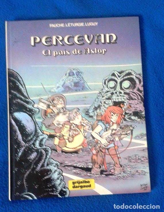 PERCEVAN Nº 4 - EL PAÍS DE ASTOR - GRIJALBO, 1986 (Tebeos y Comics - Grijalbo - Percevan)