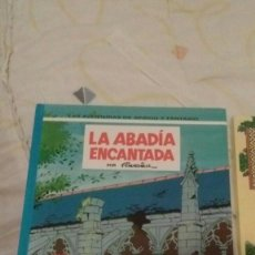 Cómics: LAS AVENTURAS DE SPIROU Y FANTASIO - LA ABADÍA ENCANTADA. Lote 101907059
