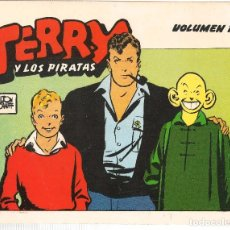 Cómics: TERRY Y LOS PIRATAS. MILTÓN CANIFF. ¡¡COMPLETA!!. 12 NÚMEROS. EDICIONES EL AVENTURERO. (RF.MA)C/30. Lote 101931851