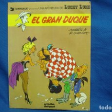 Cómics: LUCKY LUKE - EL GRAN DUQUE - EDITORIAL GRIJALBO 1982. Lote 117559372