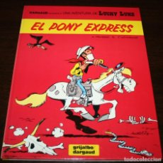 Cómics: LUCKY LUKE - EL PONY EXPRESS - X.FAUCHE/J. LETURGIE - GRIJALBO/DARGAUD - 1989 - EN CATALÁN. Lote 102027447