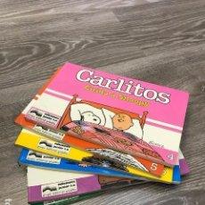 Cómics: LOTE CARLITOS - JUNIOR GRIJALBO - 1989 (6 CÓMICS). Lote 102106999