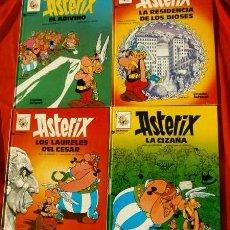 Cómics: ASTERIX - LOTE 4 COMICS EN CASTELLANO Nº 15,17,18,19 (GRIJALBO) ADIVINO, LAURELES, CIZAÑA, DIOSES. Lote 102398463