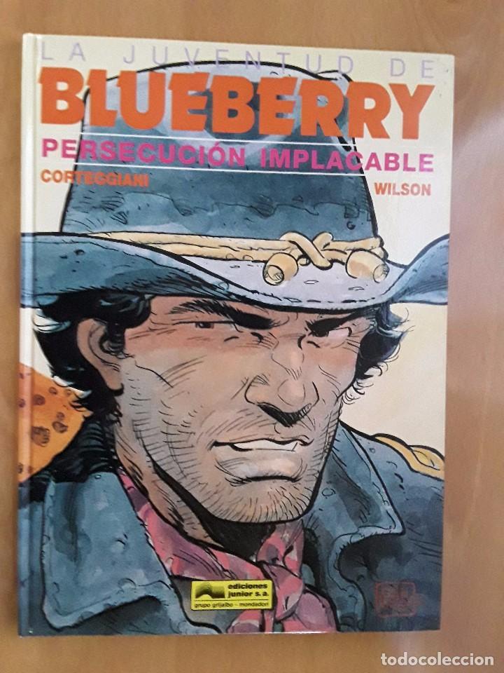 EDICIONES JUNIOR/GRIJALBO - PERSECUCIÓN IMPLACABLE - Nº 30 - TENIENTE BLUEBERRY (Comics und Tebeos - Grijalbo - Blueberry)