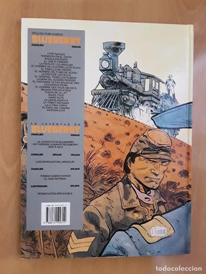 Comics: ediciones junior/GRIJALBO - PERSECUCIÓN IMPLACABLE - Nº 30 - TENIENTE BLUEBERRY - Foto 2 - 102484931