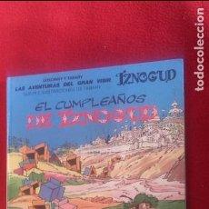 Cómics: IZNOGUD 16 - EL CUMPLEAÑOS DE IZNOGUD - TABARY - CARTONE. Lote 102500119