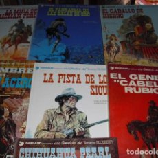 Cómics: TENIENTE BLUEBERRY - PRIMEROS 7 NºS. - 1977 - 1980 -. Lote 102522431