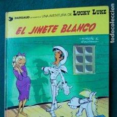 Cómics: LUCKY LUKE EL JINETE BLANCO 1977. Lote 102679463
