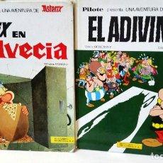 Cómics: 2 LIBROS DE ASTERIX. Lote 102729067
