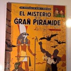 Comics : BLAKE Y MORTIMER. EL MISTERIO DE LA GRAN PIRÁMIDE. Lote 103182475