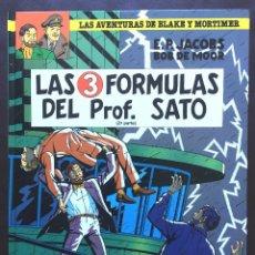 Cómics: LAS FÓRMULAS DELPROFESOR SATO Nº 12 BLAKE Y MORTIMER ED GRIJALBO MONDADORI JUNIOR NUEVO TAPA DURA. Lote 103189467