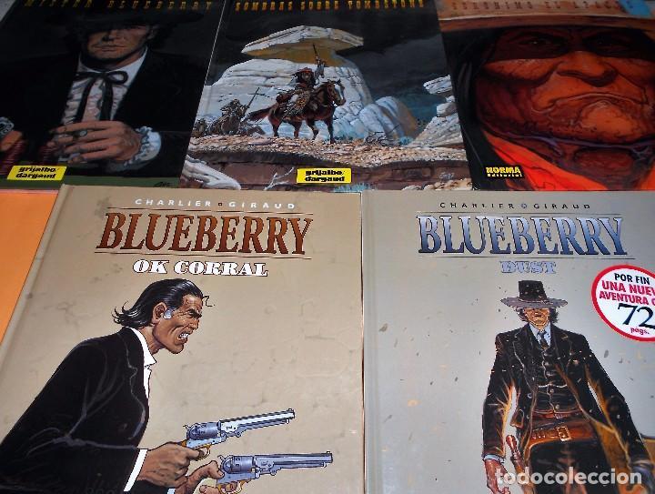 BLUEBERRY. MISTER BLUEBERRY. GIRAUD. 5 VOLUMENES . TAPA DURA. COMO NUEVOS. (Tebeos y Comics - Grijalbo - Blueberry)