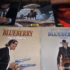 Cómics: BLUEBERRY. MISTER BLUEBERRY. GIRAUD. 5 VOLUMENES . TAPA DURA. COMO NUEVOS.. Lote 103281367