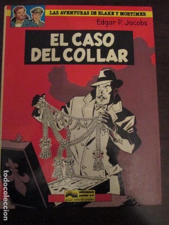 BLAKE Y MORTIMER-EL CASO DEL COLLAR (Tebeos y Comics - Grijalbo - Blake y Mortimer)