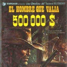 Cómics: Nº 8 EL HOMBRE QUE VALÍA 500.000 DOLARES. Lote 103419667