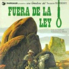 Cómics: Nº 10 FUERA DE LA LEY. Lote 103420611