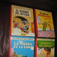 Cómics: LAS AVENTURAS DE JUAN Y GUILLERMO -DE PEYO , COLECCION COMPLETA 4 NUMEROS. Lote 103431499