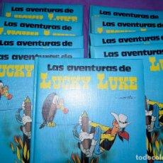 Cómics: COLECCIÓN 9 TOMOS LUCKY LUKE. EDITORIAL GRIJALBO / DARGAUD. Lote 103562043