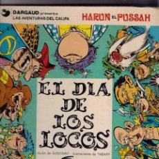 Cómics: HARUN EL PUSSAH Nº 2 EL DIA DE LOS LOCOS. Lote 103634879
