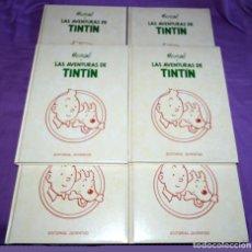 Cómics: COLECCIÓN 6 TOMOS LAS AVENTURAS DE TINTÍN. EDITORIAL JUVENTUD. Lote 103660223