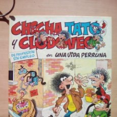 Cómics: CHICHA, TATO Y CLEDOVEO EN UNA VIDA PERRUNA. Lote 103682791