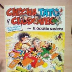 Cómics: CHICHA, TATO Y CLEDOVEO Y EL CACHARRO FANTASTICO. Lote 103682891