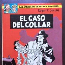 Cómics: EL CASO DEL COLLAR Nº 7 BLAKE Y MORTIMER ED GRIJALBO EDICIONES JUNIOR TAPA DURA 1986. Lote 103750783