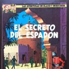 Cómics: EL SECRETO DEL ESPADÓN 2ª PARTE Nº 9 BLAKE Y MORTIMER GRIJALBO EDICIONES JUNIOR 1987 TAPA DURA. Lote 103751239