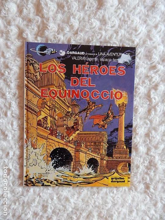 VALERIAN AGENTE ESPACIO TEMPORAL - LOS HEROES DEL EQUINOCCIO N. 7 (Tebeos y Comics - Grijalbo - Valerian)
