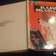 Cómics: LAS AVENTURAS DE BLAKE Y MORTIMER Nº7 EL CASO DEL COLLAR 1ªEDICION. Lote 103959271