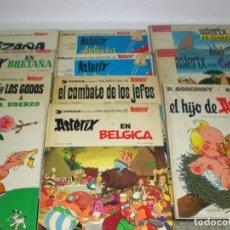 Cómics: ASTERIX , 17 TITULOS DIFERENTES. EN CASTELLANO. Lote 104017203